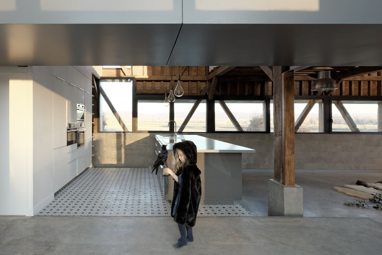 El granero / ZIEGLER Antonin architecte, © David Boureau
