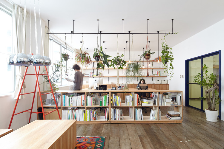 CHICHI Office / Koyori + Atelier Salt, © Shohei Yoshida