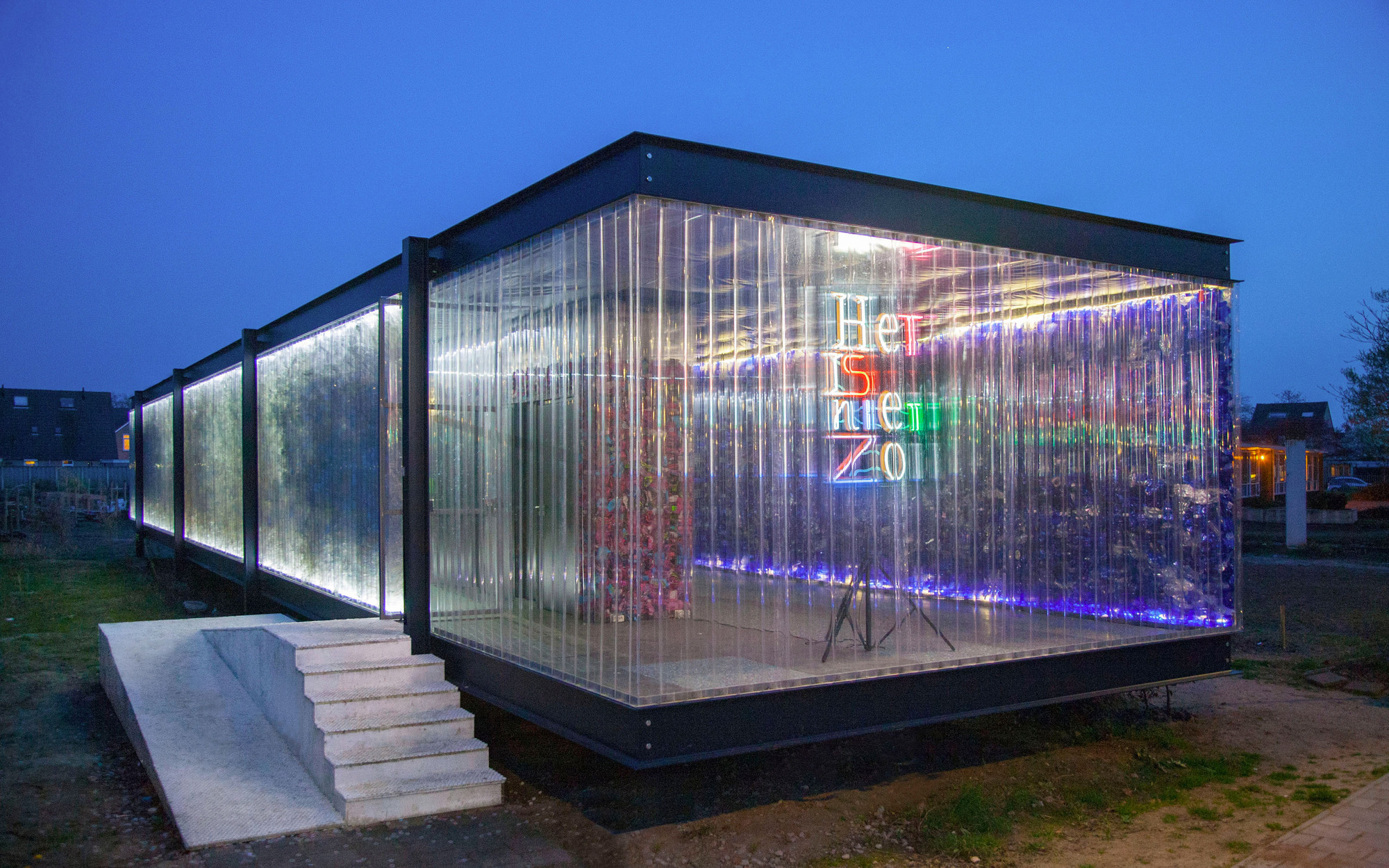 Gallery Of From Recycled Plastic Waste To Building