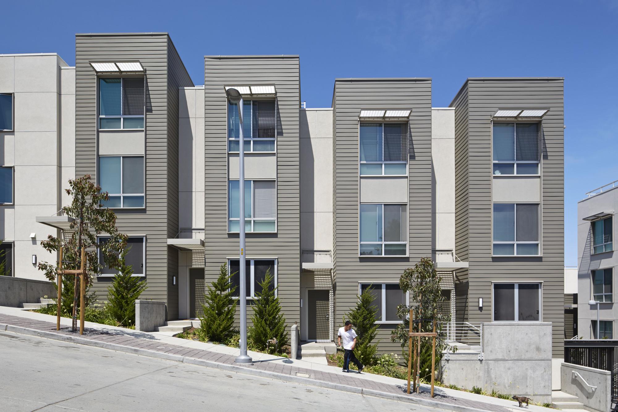 House hunters san francisco bay - Hunters View Housing Blocks 5 6 Paulett Taggart Architects Bruce Damonte