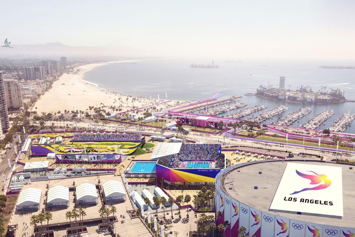 Proposed Sites Of La S 2024 Olympic Bid