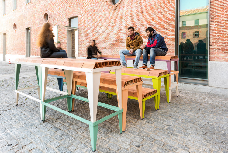 Industrialized Ceramic Elements That Create a Variety of Urban Furnishings, © Javier de Paz García