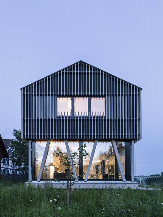 Hemishofen House / Dost, © Andrin Winteler - bürobureau
