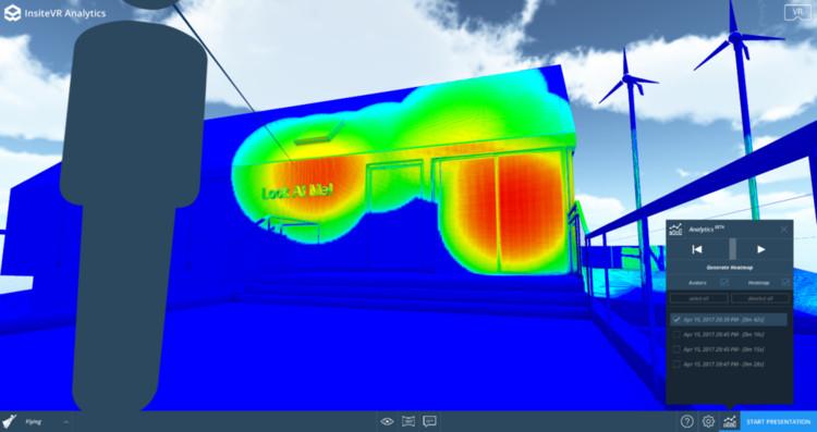 Nova ferramenta de realidade virtual permite mapear as ações dos usuários dentro do modelo 3D, via InsiteVR