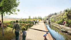 Rec Comtal, un proyecto paisajístico para restaurar el histórico canal de riego de Barcelona