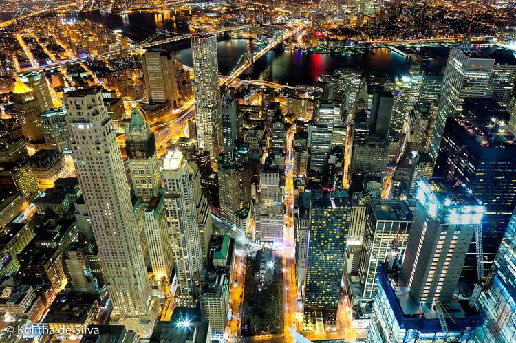 Visite 50 lugares do mundo através de sua tela (e sem distrações), Nova Iorque. Imagem © Kolitha de Silva [Flickr], Licença CC BY 2.0