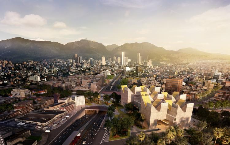 MGP + estudio.entresitio revelan nuevas imágenes del futuro Museo Nacional de la Memoria en Bogotá , Render . Image Cortesía de MGP Arquitectura y Urbanismo / estudio.entresitio