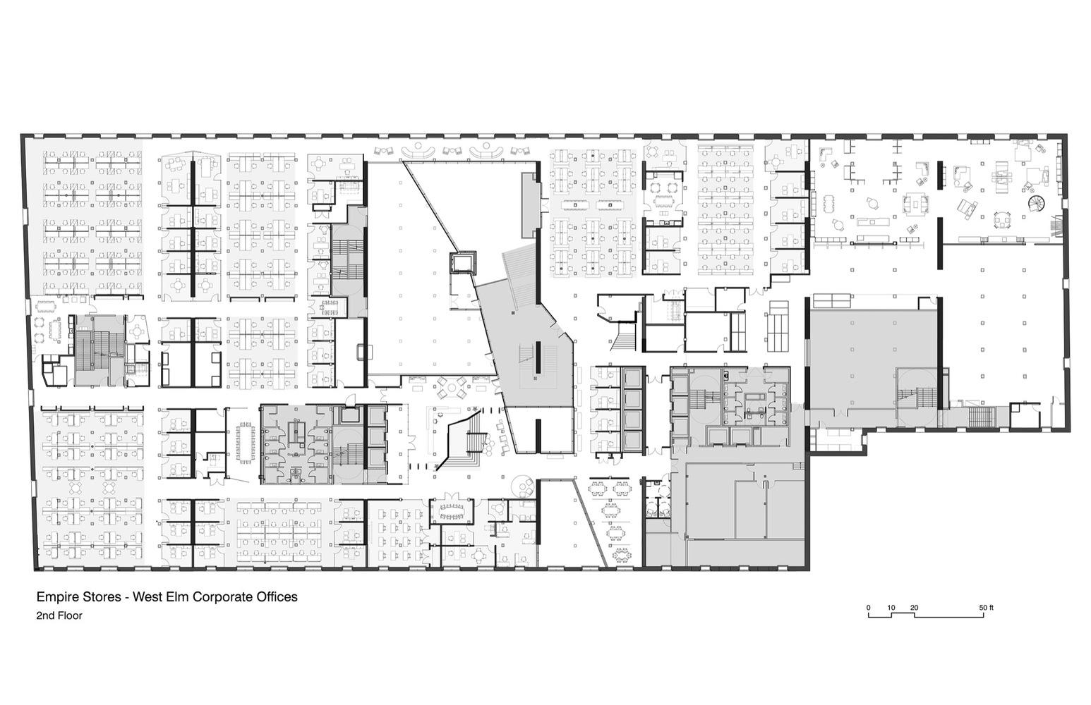 Gallery Of West Elm Corporate Headquarters Vm Architecture Design 18