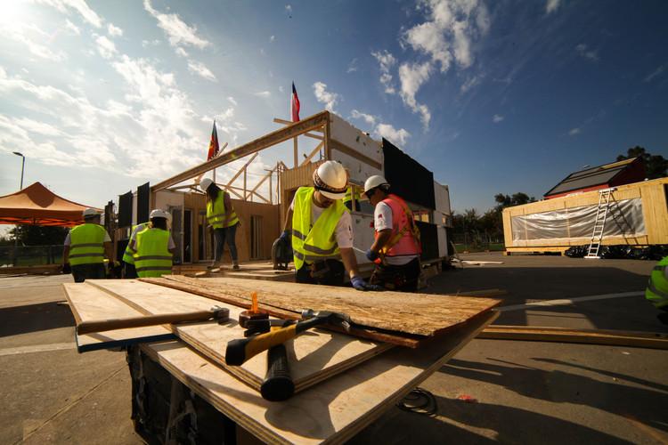 Construye Solar 2017 inaugura en Chile su 'villa solar' con prototipos sustentables de viviendas social, © Construye Solar