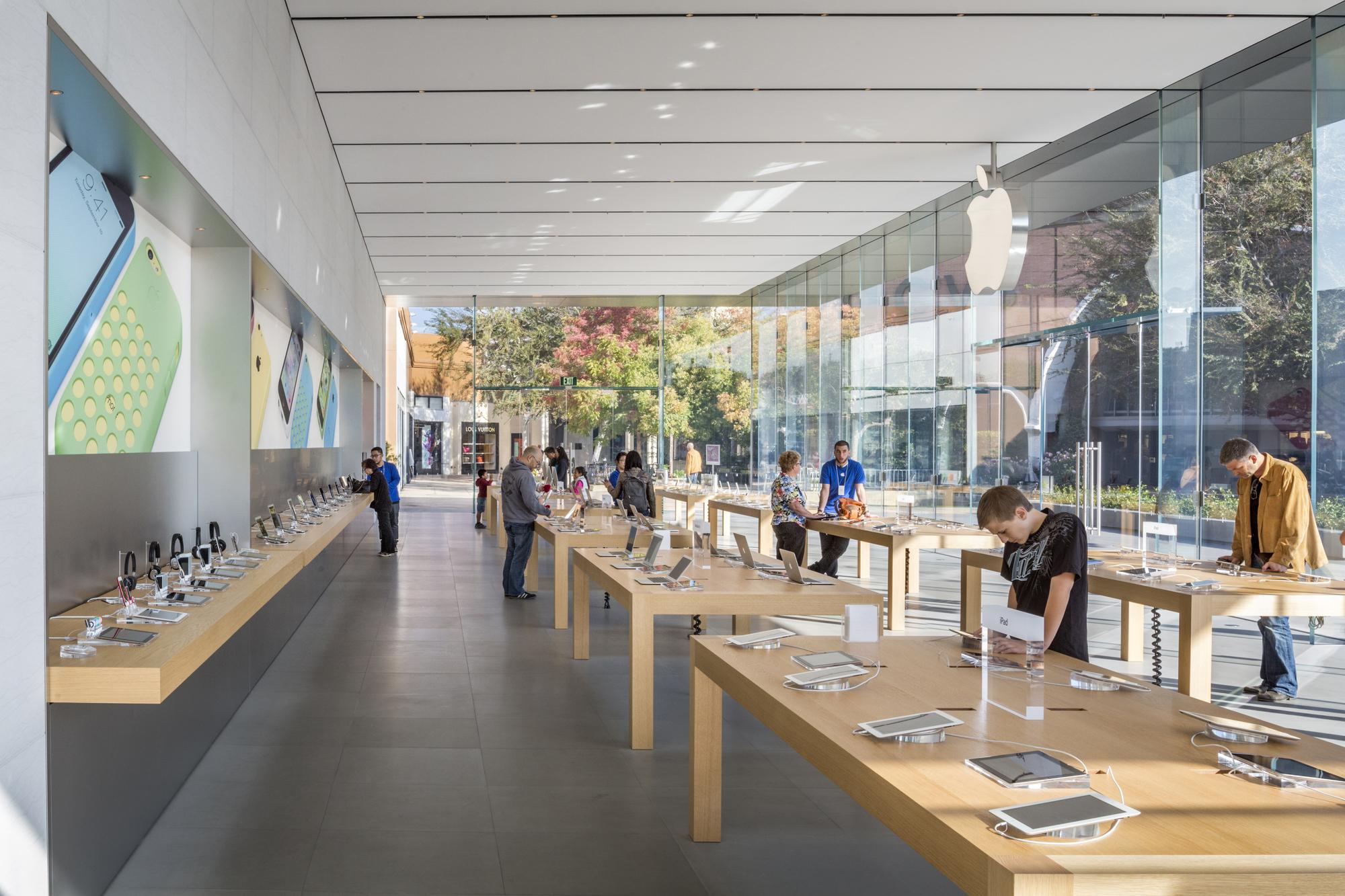 Gallery Of Stanford Apple Store Bohlin Cywinski Jackson 5