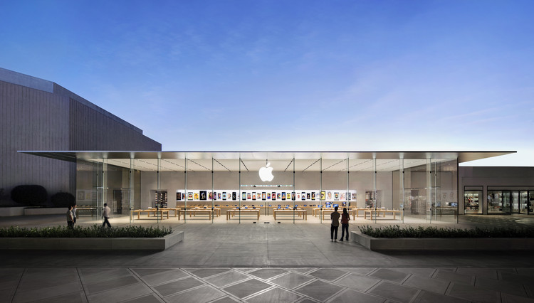 Stanford Apple Store / Bohlin Cywinski Jackson, © Hufton + Crow