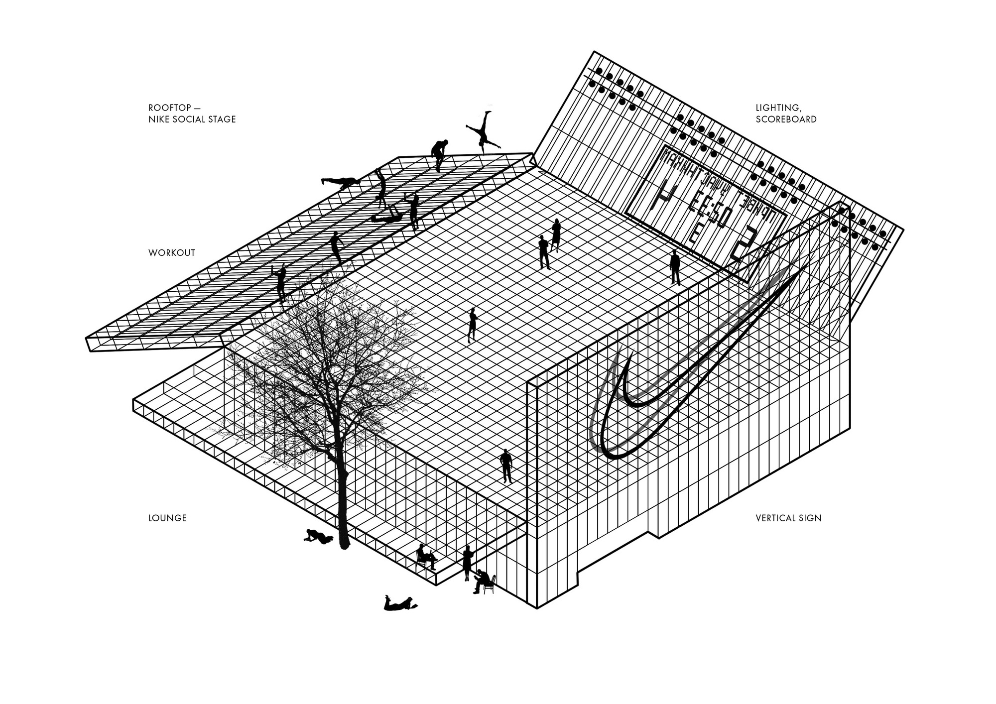 KOSMOS Architects Wins Competition for Landmark Nike Sports