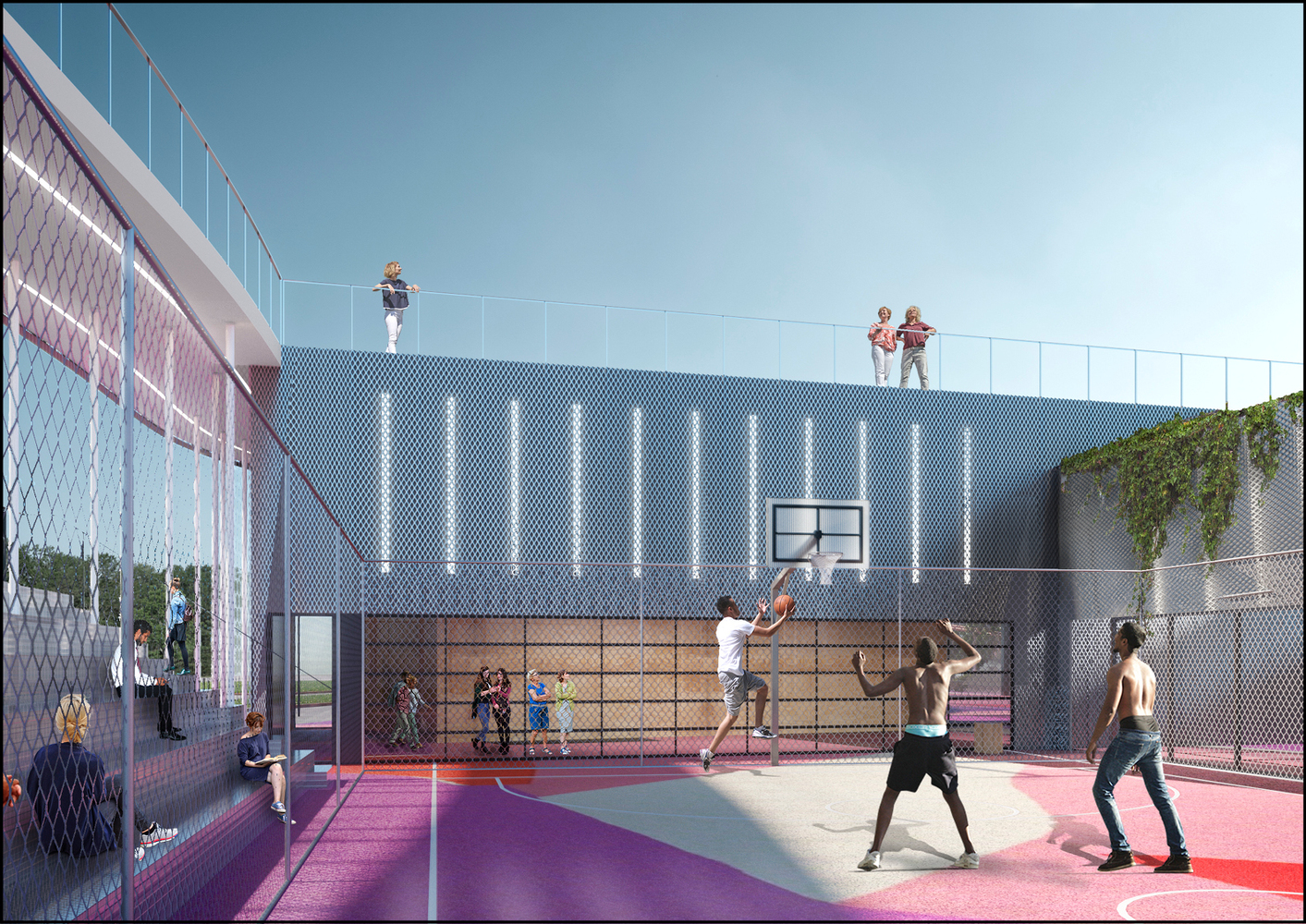 new product 6d0ee acca8 KOSMOS Architects Wins Competition for Landmark Nike Sports Park in Moscow