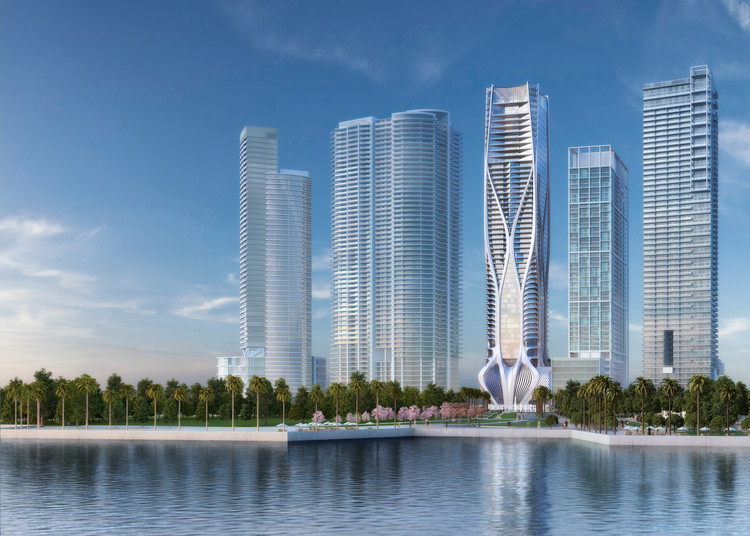 The Complex Construction of Zaha Hadid's One Thousand Museum Tower to be Featured in New Documentary, Courtesy of Zaha Hadid Architects