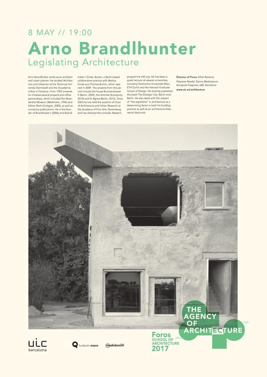 Foros2017: Conferencia de Arno Brandlhuber, el 'enfant terrible' de los arquitectos berlineses