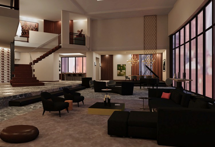 """Be a Voyeur in Christian Grey's Revamped """"50 Shades"""" Penthouse With This 3D Model, Courtesy of Archilogic"""