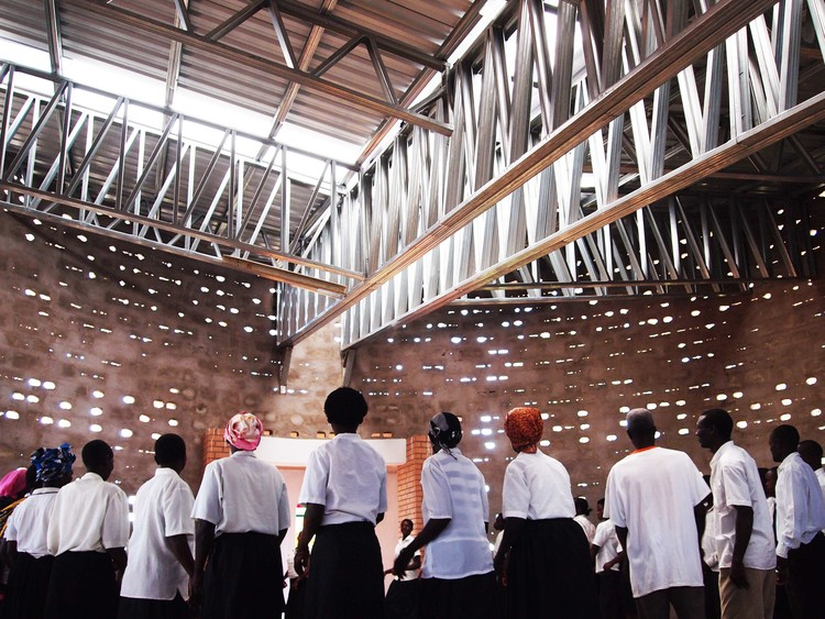 Rural Church Community Hall Malawi  / Architecture for a Change , Courtesy of Architecture for a Change