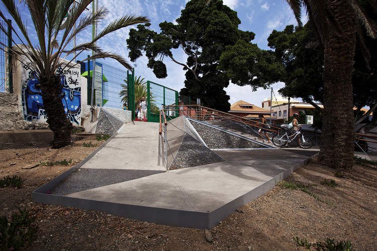 A Triangulated Ramp Made For People With Reduced Mobility In Mind, © Micael Löfgren