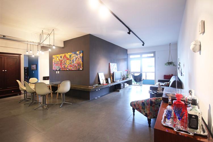 Apartamento Galeria / VIVA Arquitetura, © Francisco Refosco Nunes