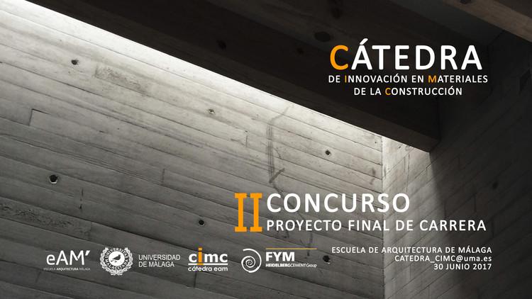II Concurso Proyecto Final de Carrera CIMC, II Concurso Proyecto Fin de Carrera CIMC