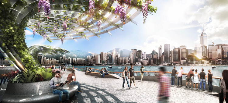 James Corner Field Operations To Lead Much Needed Revitalization of Hong Kong's Waterfront , Courtesy of James Corner Field Operations