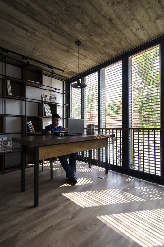 Chic Contemporary Spaces Rendered By Anh Nguyen: Nha Than Thien #003 / Global Architect & Associates