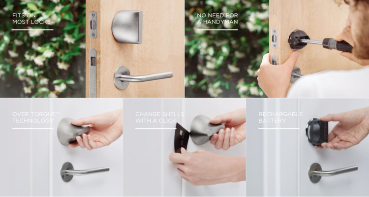 Meet the World's Smallest and Most Stylish Smartlock by BIG and Friday Labs, Courtesy of Friday Labs