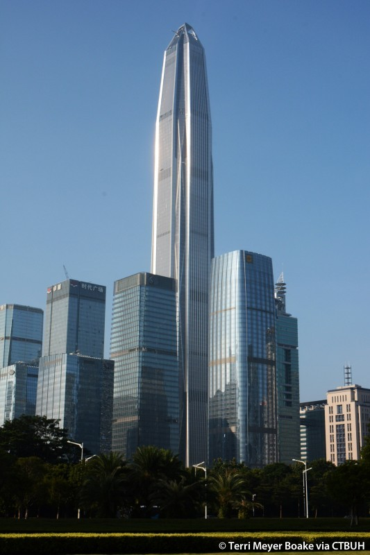 These Are the World's 25 Tallest Buildings,Ping An Finance Center. Image © Terri Meyer Boake [vía CTBUH]