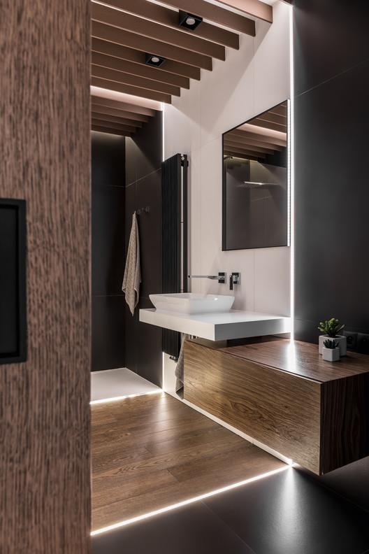 Apartamento para um homem ou mesmo dois deles metaforma archdaily brasil - Deckengestaltung badezimmer rigips ...