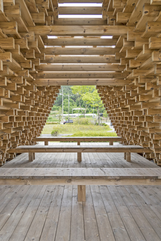 Namwon Pavilion - SanSan / Boundaries Architects, © Hwang Hyo Chel