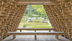 Namwon Pavilion - SanSan / Boundaries Architects
