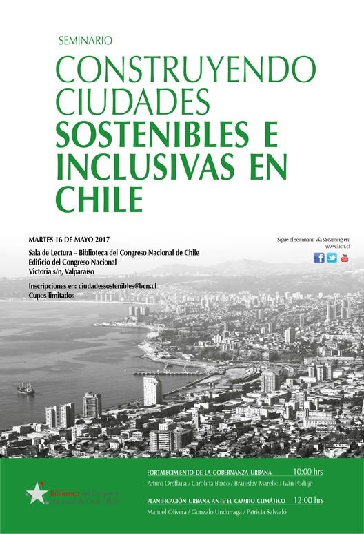 Seminario 'Construyendo ciudades sostenibles e inclusivas en Chile', Biblioteca del Congreso Nacional (BCN)