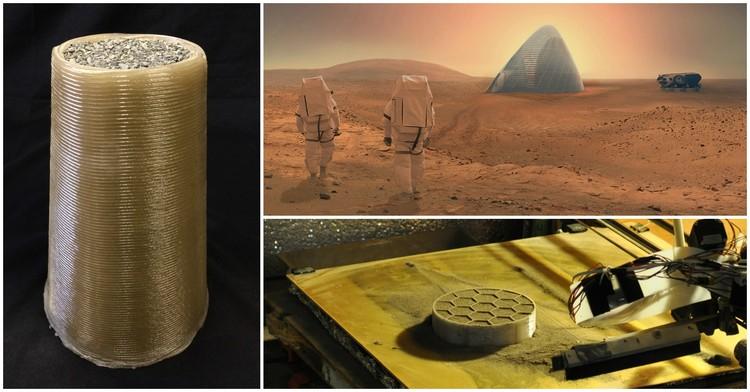 Foster + Partners é premiado em concurso da NASA para construir em Marte