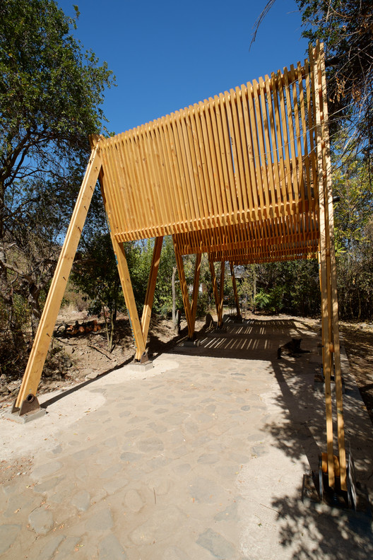 Continuity of Structure Defines this Timber Canopy in Chile , © Tomás Weisser