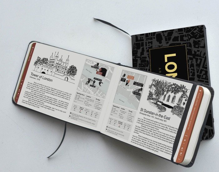 Crowdfunded Architecture Tourbooks Help You Discover Cities' Best Kept Secrets, via Kickstarter. Courtesy of Virginia Duran.
