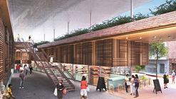 Segundo Lugar Concurso 'Mercado El Ermitaño' en Independencia, Lima / Balarq Consultores