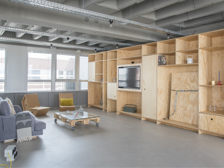 OutOfOffice Frankfurt / VON M, © Dennis Mueller
