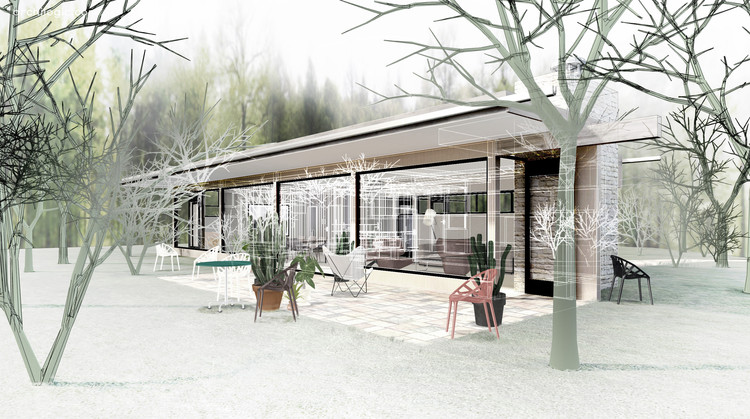A Virtual Look Into Richard Neutra's Case Study House #20, the Bailey House, Courtesy of Archilogic