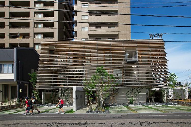 Wow! Sta. / Takeru Shoji Architects, © Koichi Satake