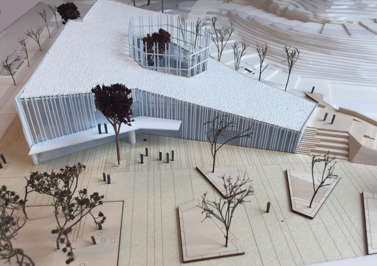 Presentación modelo de la Kulturkorgen.  Imagen cortesía de Sweco