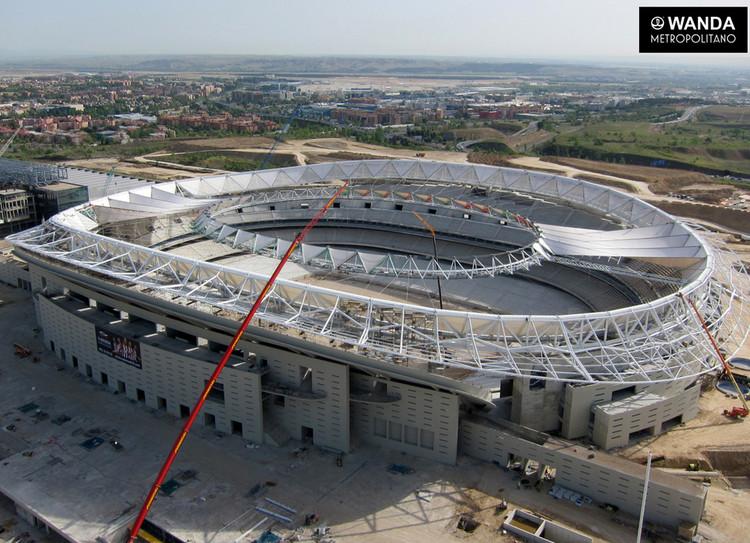 Así avanza la construcción del Estadio Wanda Metropolitano en Madrid, © Club Atlético de Madrid
