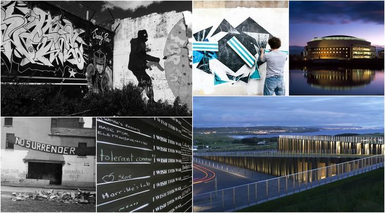 Como a arquitetura reflete a história de conflitos da Irlanda do Norte, Nos últimos cinquenta anos a Irlanda do Norte passou da guerra para a paz © Robinson McIllwaine Architects / Hufton+Crow / Flickr user: placeni / Flickr user: dr_john2005 / Wikipedia Commons User: Fribbler