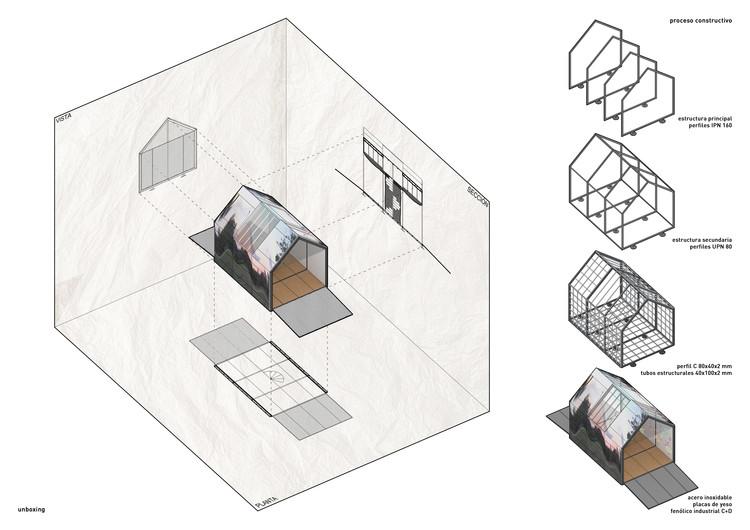 Pavilhão Infantil para fomentar atividades recreativas através da arte e da arquitetura, Cortesía de Cumpa+Pérez Arquitectos