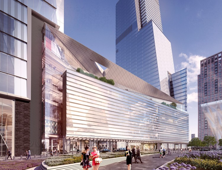Hudson Yards' Retail and Restaurant Spaces Unveiled in New Renderings, Courtesy of Related Oxford