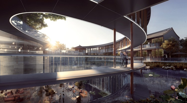 Zhuhai Hengqin Tianhu Hotel Development / Aedas, Courtesy of Aedas