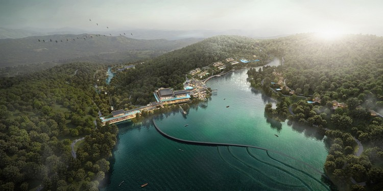 Aedas Wins Competition for Mountaintop Resort in Southern China, Courtesy of Aedas
