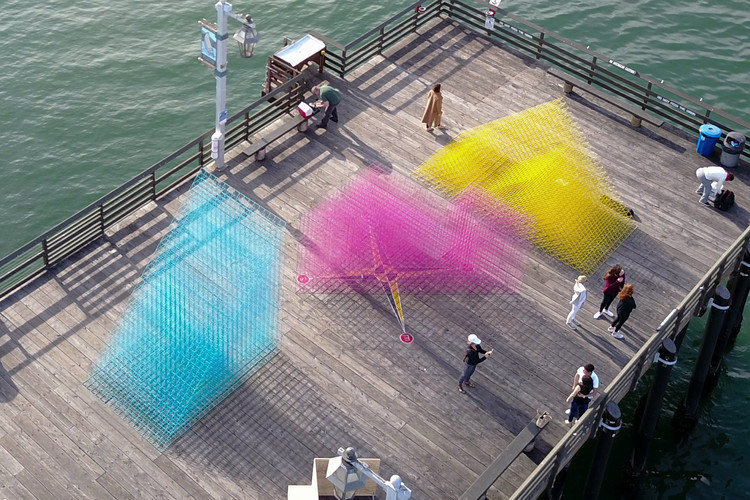 Runaway – A Temporary Splash of Color for the Santa Barbara Waterfront, Courtesy of SPORTS