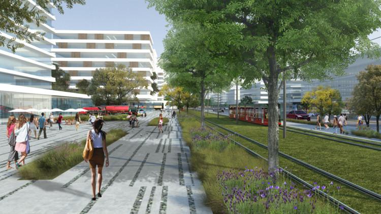 Estación Mendoza: la sustentabilidad como guía para la generación de espacio público, Cortesía de Patricio Dato