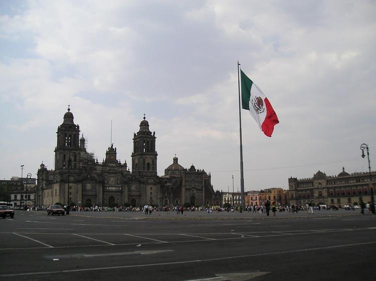 Vive la experiencia 360° del Zócalo y Catedral de la Ciudad de México, vía Flickr