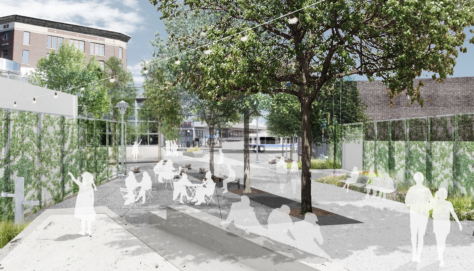 11 Projects Win NYC Public Design Commissionu0027s Excellence In Design  Awards,Downtown Far Rockaway Streetscape